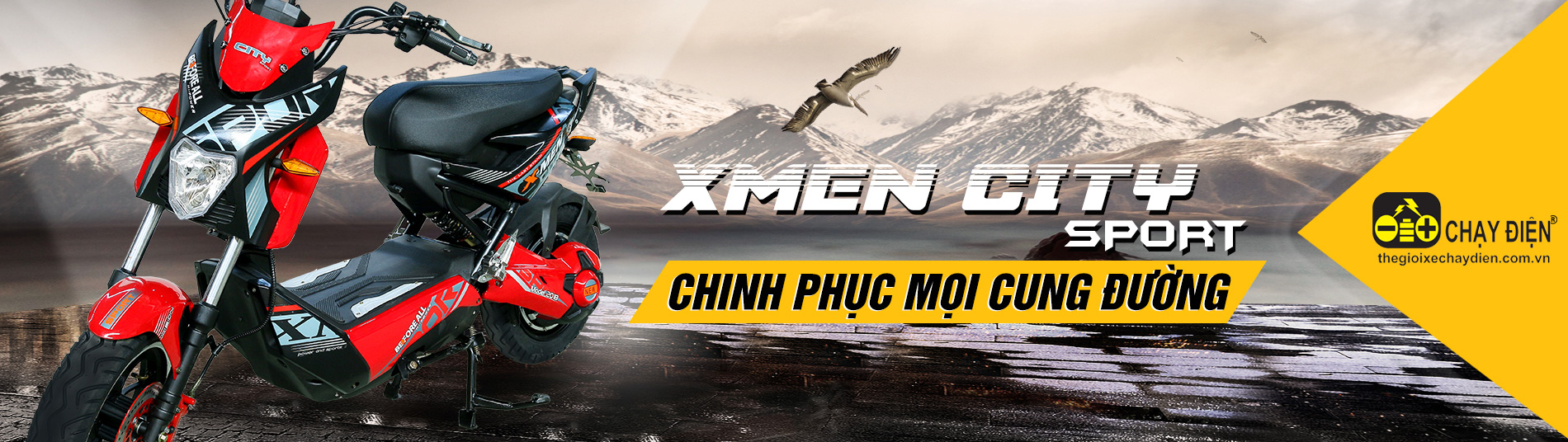 Xe máy điện X-Men City Sport Before All